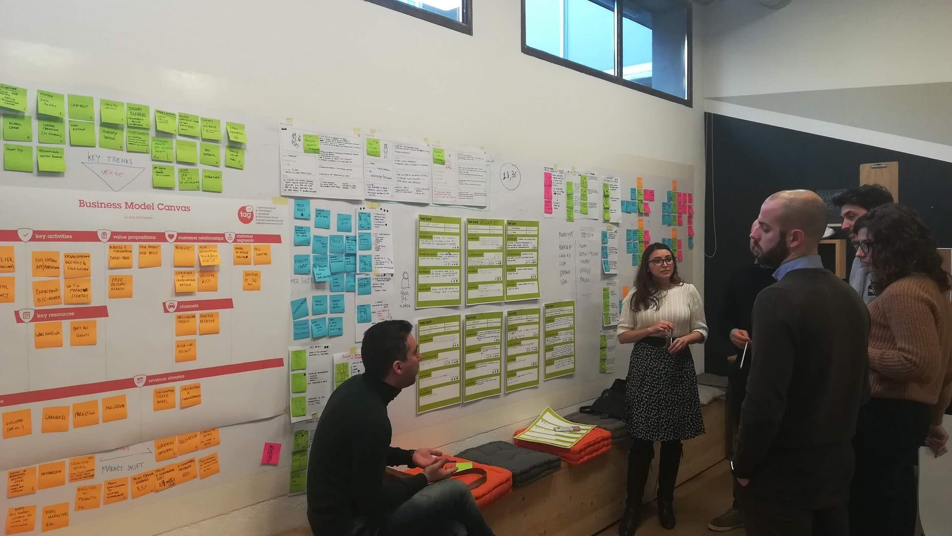 Design thinking session