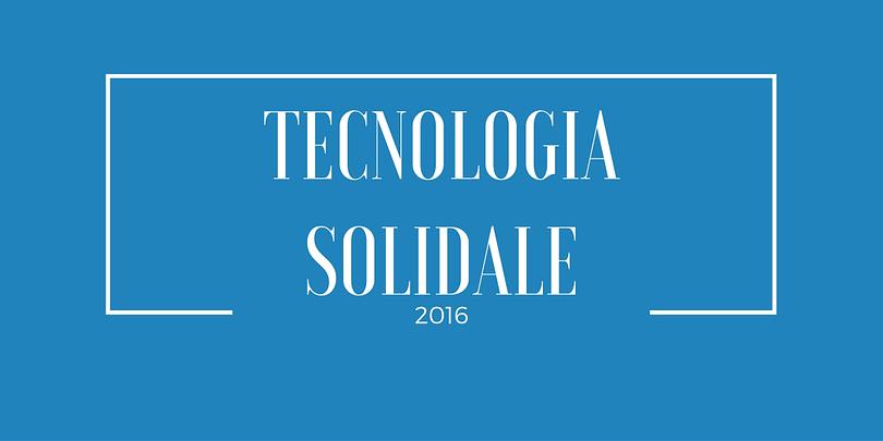 tecnologia solidale